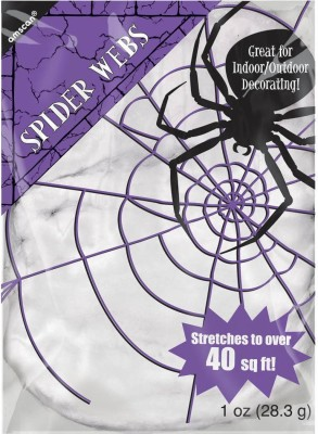 Amscan Spider Web Toy Accessory