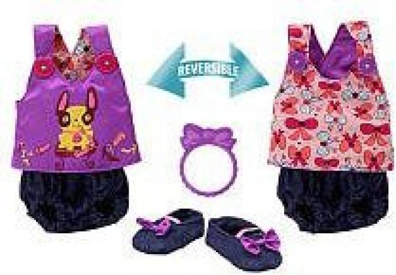 Funrise Clothing & Shoes Toy Accessory(Alive, Sweet, Reversible, Bloomer, Surprises Multicolor)