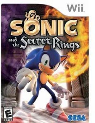 Sega Games Toy Accessory(Sonic, Secret, Rings, Nintendo, Wii Multicolor)