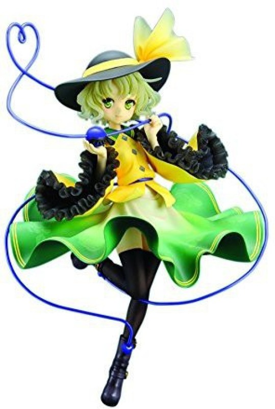 quesQ Statues Toy Accessory(QuesQ, Touhou, Project, Koishi, Komeiji Multicolor)