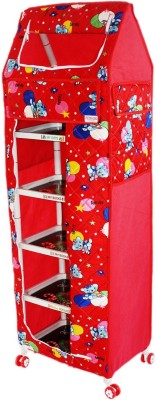 Amardeep Multi functional Toy Box Toy Accessory(all Red)