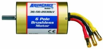 Aquacraft Complete Motors Toy Accessory(Aquacraft, 36, 56, 2030, Brushless, 6, Pole, Marine Multicolor)