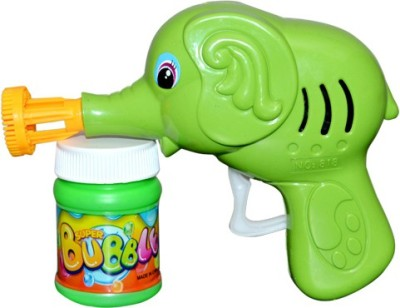 New Pinch Hand Pressing Bubble Making Gun toy