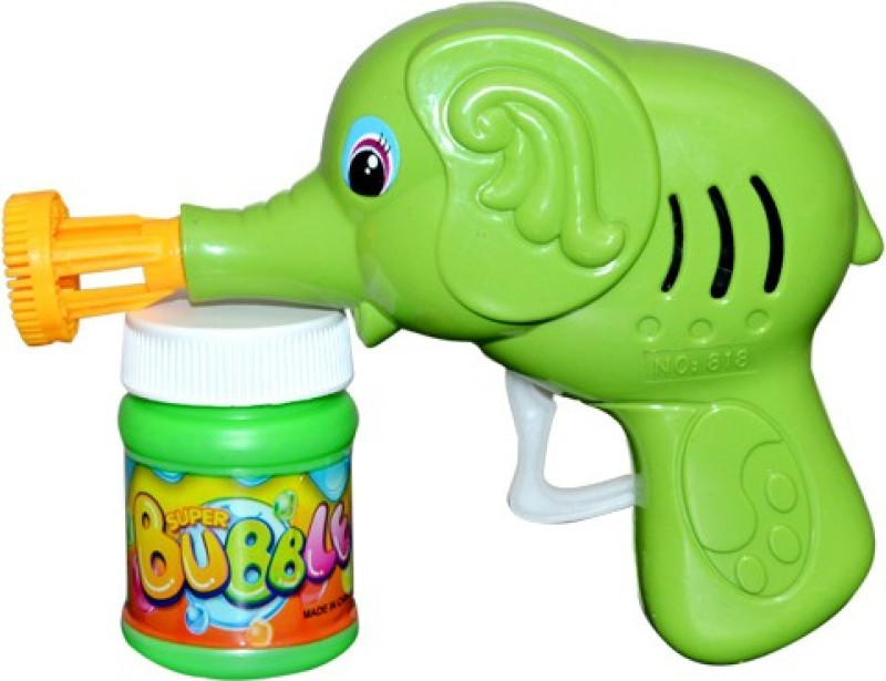 New Pinch Funny Bubble Gun For Kids Toy Bubble Maker