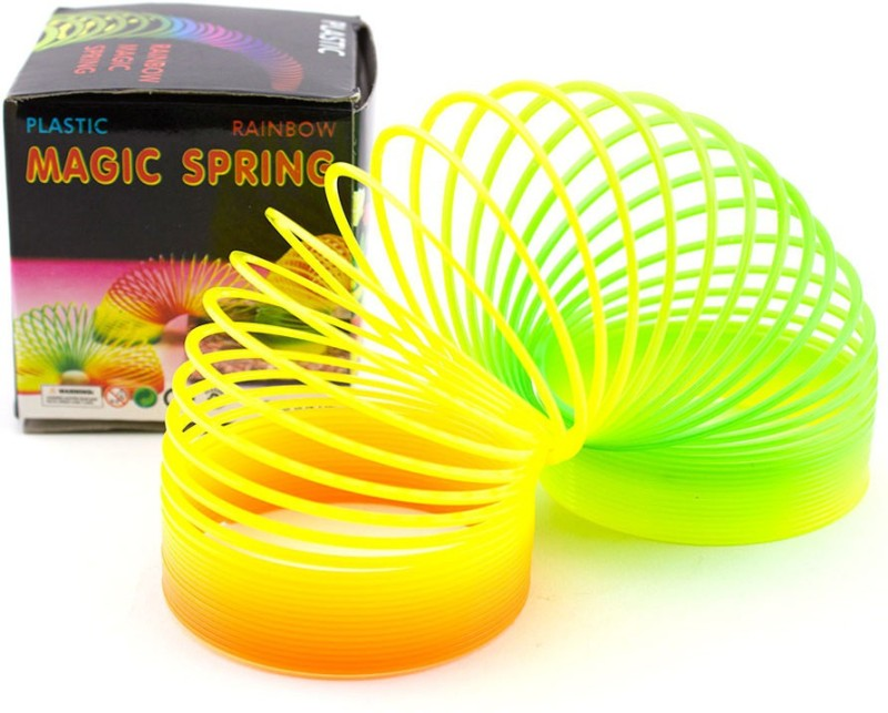 UniqueToys Rainbow Spring Toy Magic Spring(Multi Color)
