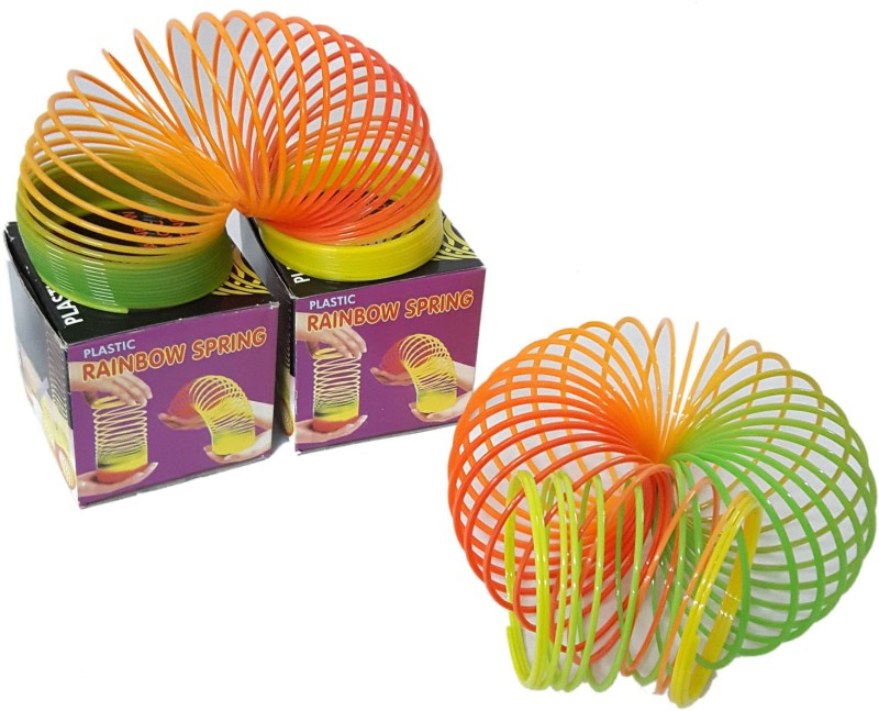 Lotus Rainbow Toy Magic Spring(Multi Color)