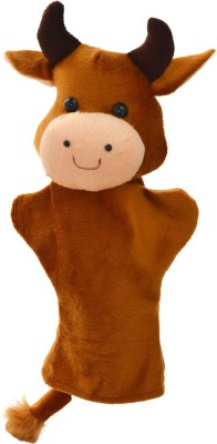 Cuddly Toys Cow Hand Puppets