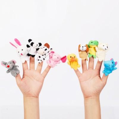Awals Animal Finger Puppet Finger Puppets(Pack of 10)