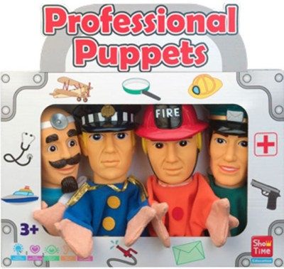 Puppet Story Puppet Story - Professional #1 (4 pcs) Large Hand Puppets(Pack of 4)
