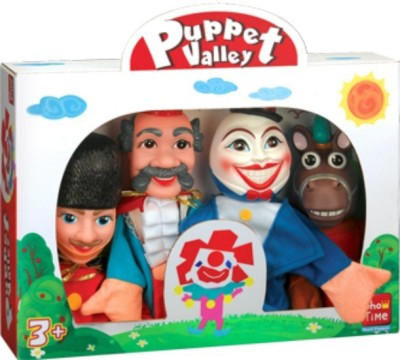 Puppet Story Humpty Dumpty, Large Hand Puppets(Pack of 4)