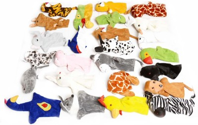Aimedu Toy Hand Puppets Animal Set Of 25 Hand Puppets