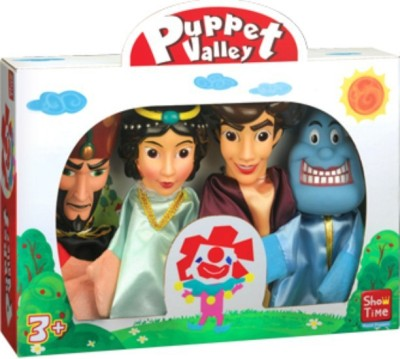 Puppet Story Alladin, Large Hand Puppets(Pack of 4)