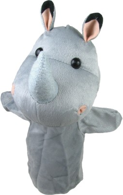Cuddly Toys Rhinoceros Hand Puppets