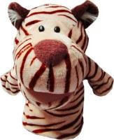 Kuhu Creations White Tiger Hand Puppets(Pack of 1)