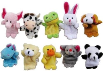 Awws & Wows Animal Finger Puppets Finger Puppets