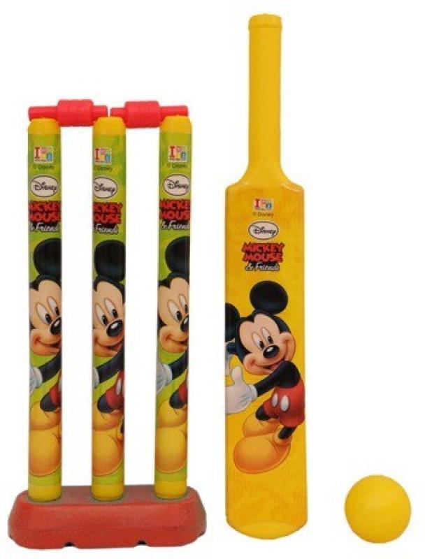 Disney Mickey Mouse My First Cricket Set-Plastic Cricket