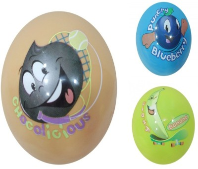 Boing Scented Ball Pack Of 3 Chocolicious, Blueberry & Banana With A Attractive Fragrance Girls, Boys Softball