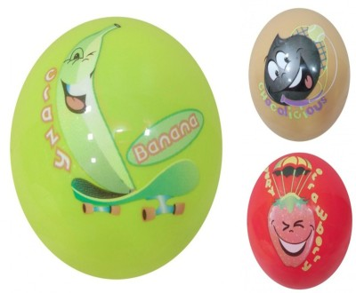 Boing Scented Ball Pack Of 3 Banana, Chocolicious & Strawberry With A Attractive Fragrance Girls, Boys Softball