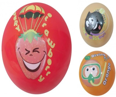 Boing Scented Ball Pack Of 3 Strawberry, Chocolicious & Orenge With A Attractive Fragrance Girls, Boys Softball