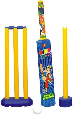 Nippon Senior Set (Box)- Plastic Cricket Kit