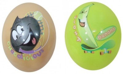 Boing Scented Ball Pack Of 2 Chocolicious & Banana With A Attractive Fragrance Girls, Boys Softball