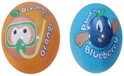 Boing Scented Ball Pack Of 2 Orenge & Blueberry With A Attractive Fragrance Girls, Boys Softball