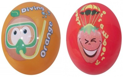 Boing Scented Ball Pack Of 2 Orenge & Strawberry With A Attractive Fragrance Girls, Boys Softball