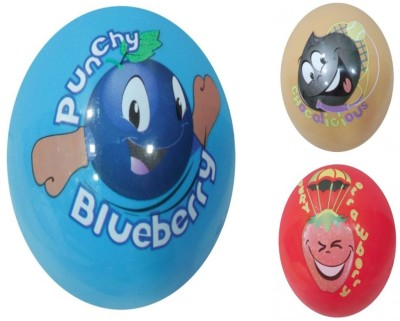 Boing Scented Ball Pack Of 3 Blueberry, Chocolicious & Strawberry With A Attractive Fragrance Girls, Boys Softball