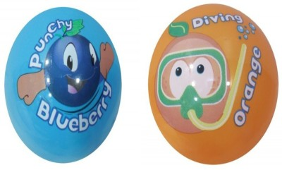 Boing Scented Ball Pack Of 2 Blueberry & Orenge With A Attractive Fragrance Girls, Boys Softball