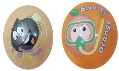 Boing Scented Ball Pack Of 2 Chocolicious & Orange With A Attractive Fragrance Girls, Boys Softball