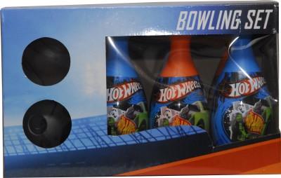 Fun Factory 6 Pin Bowling Game - Hot Wheels Girls, Boys Bowling