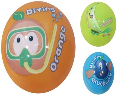 Boing Scented Ball Pack Of 3 Orenge, Banana & Blueberry With A Attractive Fragrance Girls, Boys Softball