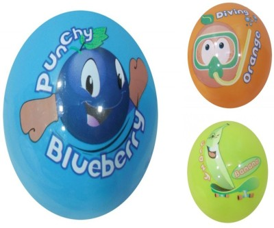 Boing Scented Ball Pack Of 3 Blueberry, Orenge & Banana With A Attractive Fragrance Girls, Boys Softball