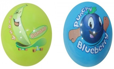 Boing Scented Ball Pack Of 2 Banana & Blueberry With A Attractive Fragrance Girls, Boys Softball