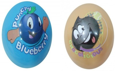 Boing Scented Ball Pack Of 2 Blueberry & Chocolicious With A Attractive Fragrance Girls, Boys Softball