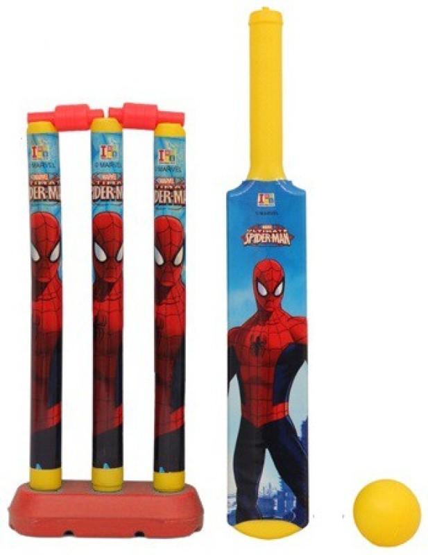 Marvel Spiderman My First Cricket Set-Plastic Cricket