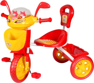 HLX-NMC Kids Space Ship Tricycle Red/Yellow Tricycle(Red)