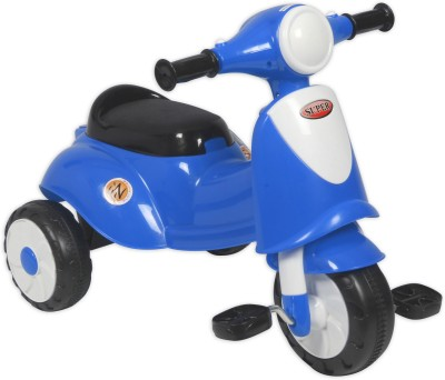 Ez, Playmates ITALIAN SCOOTER KIDS TRICYCLE BLUE Tricycle