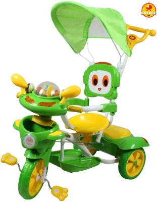 BAYBEE Tinkbot Trolly Cycle with Canopy and Parent Control Tricycle