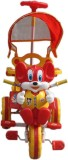 AdevWorld TC0162 Tricycle (Red, Yellow)