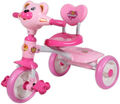 BAYBEE Puggy Tricycle (Pink) Tricycle