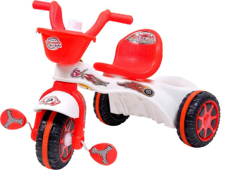 Playway Adjustable Bike Tricycle(Multicolor)