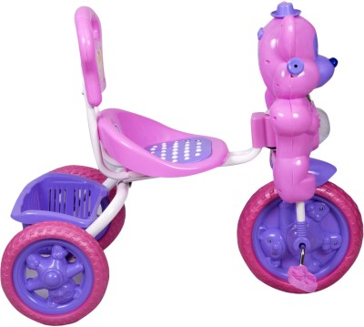 HLX-NMC Kids Fun Mouse Musical Tricycle Pink/Purple Tricycle