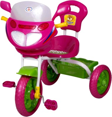 HLX-NMC Kids Mobike Pink Tricycle(Pink)