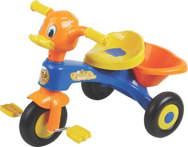 Ez' Playmates Kids Duck Blue/Orange Tricycle(Multicolor)
