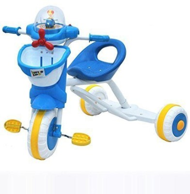 Intra Sturdy,Tough and Stylish ABS Tricycle with Carrier and Slip resistant pedals Tricycle
