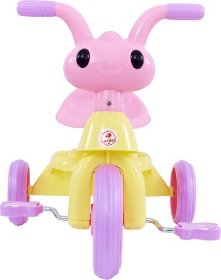 Baybee Antitow Tricycle - Pink Tricycle