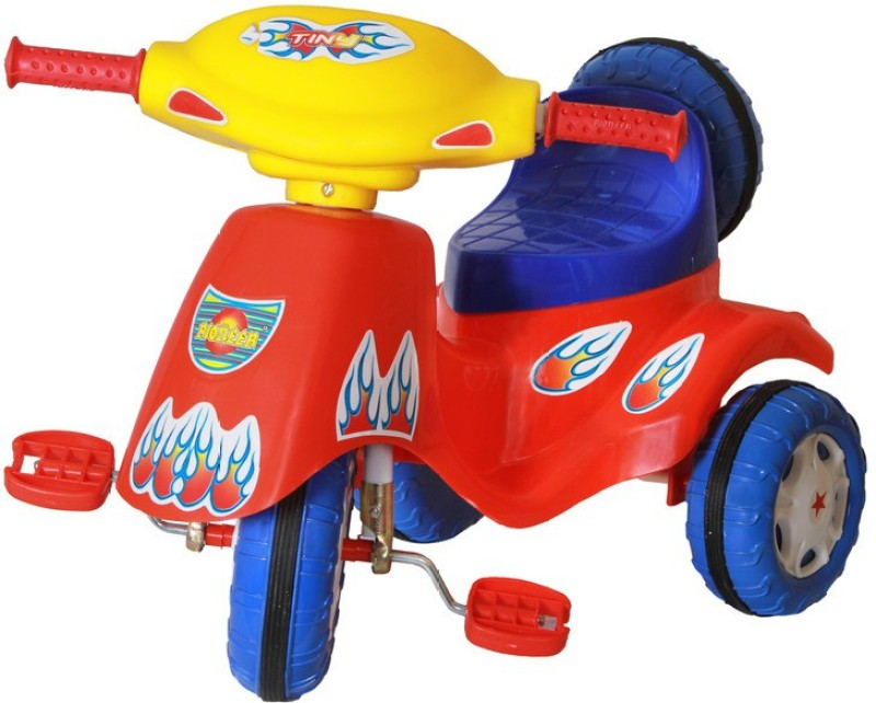 Playtool Tiny Go Tricycle(Blue, Red, Yellow)