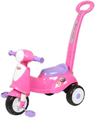 ITALIAN SCOOTER KIDS TRICYCLE WITH NAVIGATOR PINK Tricycle