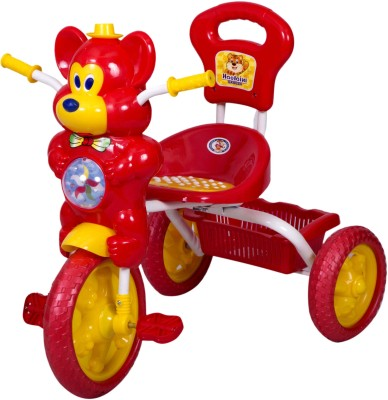HLX-NMC Kids Fun Mouse Musical Red/Yellow Tricycle